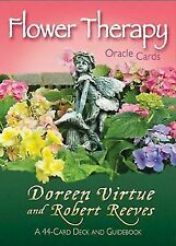 Flower Therapy Oracle Cards by Doreen Virtue 9781401942601 |