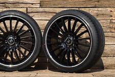 Mercedes CLK W209 W208 C209 C208 18 Zoll Sommerräder KT15 Nexen ET30 schwarz