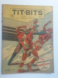 SIDEREAL WAR! - TIT-BITS #2414 (1955) - ORIGINAL COMIC IN SPANISH - ARGENTINA