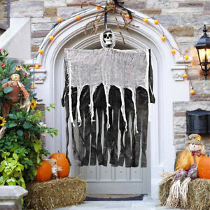 Halloween Hanging Skull Ghost Haunted House Decoration Horror Props Party