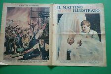 IL MATTINO ILLUSTRATO 1937 S.A.R. PRINCIPE DI NAPOLI VITTORIO EMANUELE MARIA PIA