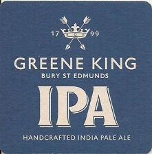 4 X '2016 Current' GREENE KING IPA BEER MATS. Breweriana Beer Ale Suffolk Pub