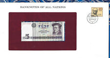 Banknotes of All Nations GDR East Germany 1975 5 Mark UNC P 27a IH017347
