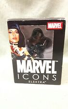 Marvel Icons ELEKTRA Bust/Statue Black outfit 317/600