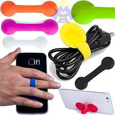 SUPPORTO Portatelefono CELLULARE Smartphone TELEFONO Portatile DESKTOP Tascabile