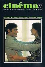 Cinema 77  N°222   Juin 1977 Prevert cinema arabe