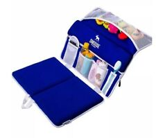 Baby Bath Kneeler Pad / Bath Caddy By Dmoose, Waterproof, Blue