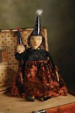 "27"" Lurka & Hedsra Witch Wicca Prim Style Doll Bethany Lowe Kim Kohler KK9726"