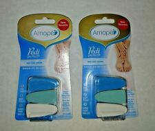 (2) x Amope Pedi Perfect Nail Care Heads 3 Refills per pack