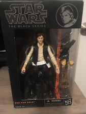 Star Wars Black Series HAN SOLO Action Figure ORANGE LINE #08 Unopened