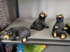 Singing Tree Presents Bear Foots by Montana Artist Jeff Flemming-3 figures