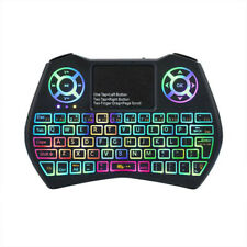 2.4GHz Wireless Keyboard Fly Air Mouse backlit Remote Control For Android TV BOX