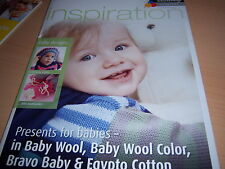 Schachenmayr Inspiration 57 Strickheft Geschenke fürs Baby Handarbeiten