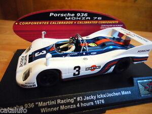 FUERA STOCK Spirit Ref:0601404 Porsche 936 Monza 1976 #3 Slot Car 1:32 Nuevo New