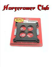 """RPC R9138 1/2"""" Ported Phenolic Carburetor Spacer w/Studs Holley 4150 4160"""