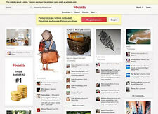 start your own pinterest clone website photo sharing social image site 2017 Best