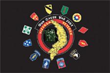 RUMBLING PRIDE VIETNAM VETERAN MOTORCYCLE FLAG  6X9 MADE IN USA