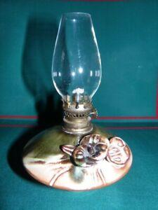 Porcelain Vintage Oil Lamp