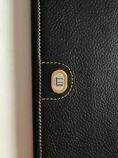 Authentic Dunhill Wallet Black Men's Leather