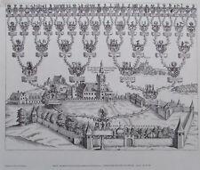 Schloss Greillenstein Stammbaum Graf Kuefstein - Reproduktion Kunstblatt Druck