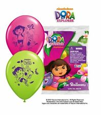 12 DORA THE EXPLORER Balloons Birthday Decorations Party Supplies Favors Prizes