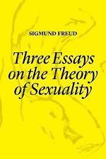 THREE ESSAYS ON THE THEORY OF SEXUALITY - FREUD, SIGMUND/ KISTNER, ULRIKE (TRN)/