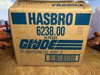 GI Joe 24 Figure Lot MOSC Still in Original Shipping Box Street Fighter II 6238