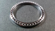 Stainless Steel Lady 26.3mm diameter, Set 2.2 MM Diamond Bezel Frame, NEW