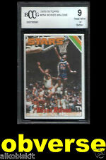 1975-76 Topps Moses Malone 254 Rookie Card RC PSA 9 '86 Fleer 69 Mint Graded RIP
