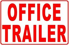 Office Trailer Sign Size Options