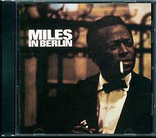 Miles Davis - Miles In Berlin CD Japan 35DP 68 black/silver label