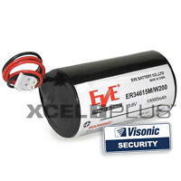 Visonic Powermax 3.6V Siren Alarm Battery MCS-730, MCS-710 MCS-720 0-9912-K