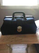 Schell Black Leather Doctor Medical Bag