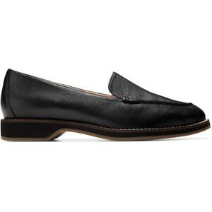 Cole Haan The Go To Women's Leather Cushioned Slip On Dress Loafers