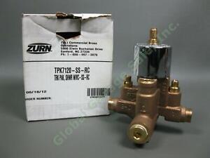 NEW Zurn TPK7120-SS-RC Pressure Balancing Mixing Shower Valve Temperature Guard