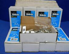 IDEAL 86-432 2-WAY CATV CABLE SPLITTER, LOT OF 9, 10 IN EACH, NIB *PB*