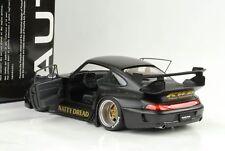 1996 Porsche 911 993 RWB Rauh-Welt matt schwarz 1:18 Autoart 78154