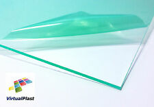 Clear Acrylic Sheet 2mm Thick Plexiglass 210mm x 300mm Ease to Cut with Cutter