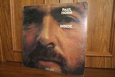 Paul Horn Inside Lp Epic BXN 26466 Jazz VG+/VG