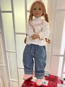 Annette Himstedt Puppe Jana 80 cm. Top Zustand.