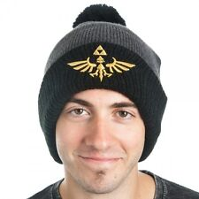 Official Nintendo ~THE LEGEND OF ZELDA Skyward Sword~ BEANIE Mens Winter Hat Cap