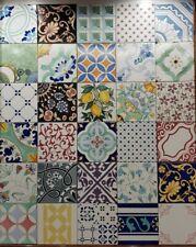 piastrelle ceramica mattonelle maioliche patchwork vietresi vietri tiles