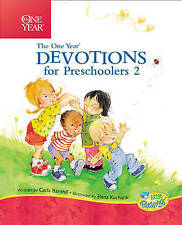 The One Year Devotions for Preschoolers 2 (Little Blessings)-ExLibrary