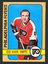 1972-73 Topps Hockey Ed Van Impe #9 - Philadelphia Flyers - Mint