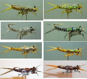 Artflies Realistic Stonefly & Salmonfly Nymph ~ Choose Patterns, Sizes and Qty ~