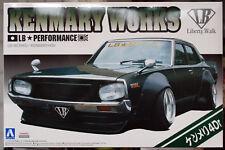 Nissan Skyline Kenmary 4dr Kenmary works  LB works 1:24 JDM Aoshima 51276 #08