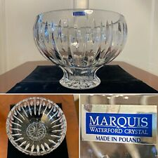 New! Marquis by WATERFORD CRYSTAL Sheridan Large Footed Fruit Centerpiece Bowl