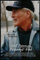 NOBODY'S FOOL Paul Newman 1995 Original 1 SHEET MOVIE POSTER 27 x 41