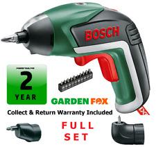 savers choice Bosch IXO-V Li-ION Cordless Screwdriver 06039A8072 3165140800051 D