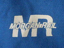 Vintage Morgan Rail Hoodie Jacket Size XL (Made in USA)